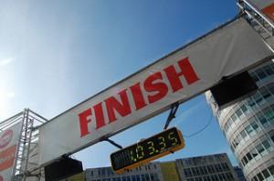 finish line - the goal in Google Analytics